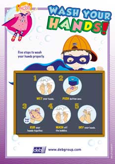 photo regarding Free Printable Hand Washing Posters identified as Totally free Foods Cleanliness Posters