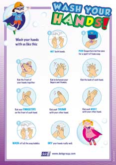 picture regarding Free Printable Hand Washing Posters known as Free of charge Food items Cleanliness Posters