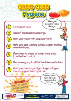 picture about Free Printable Hand Washing Posters known as Absolutely free Meals Cleanliness Posters