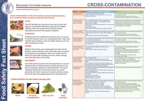 photograph about Free Printable Food Safety Signs known as Free of charge Meals Cleanliness Posters