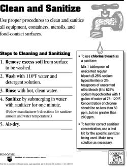 image relating to Wash Rinse Sanitize Printable Signs named Totally free Meals Cleanliness Posters