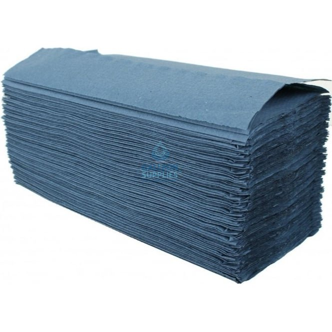 Kimberly Clark 1 Ply - Blue - C-Fold - Paper Hand Towels