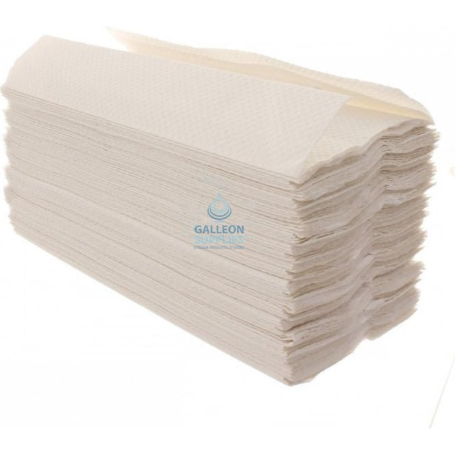 Galleon 2 Ply - White - C-Fold - Flushable Paper Hand Towels
