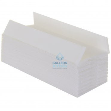 2 Ply - White - C-Fold - Flushable Paper Hand Towels - Pallet