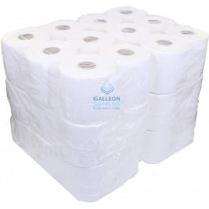 2 Ply White Centrefeed Rolls - Ready Made Parcel