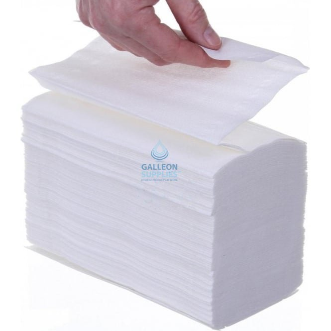 Kleenex 2 Ply - White - Interleaved - Paper Hand Towels