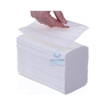 2 Ply - White - Interleaved - Paper Hand Towels