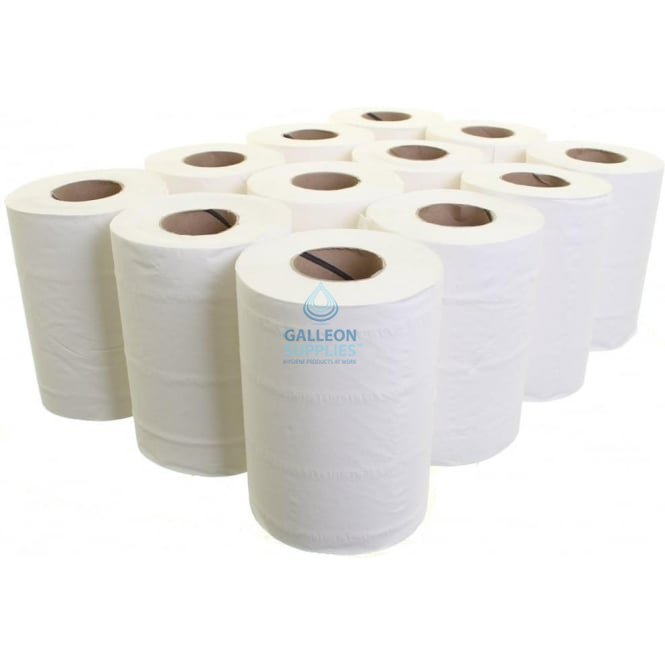 Galleon 2 Ply White Mini Centrefeed Rolls - Pallet