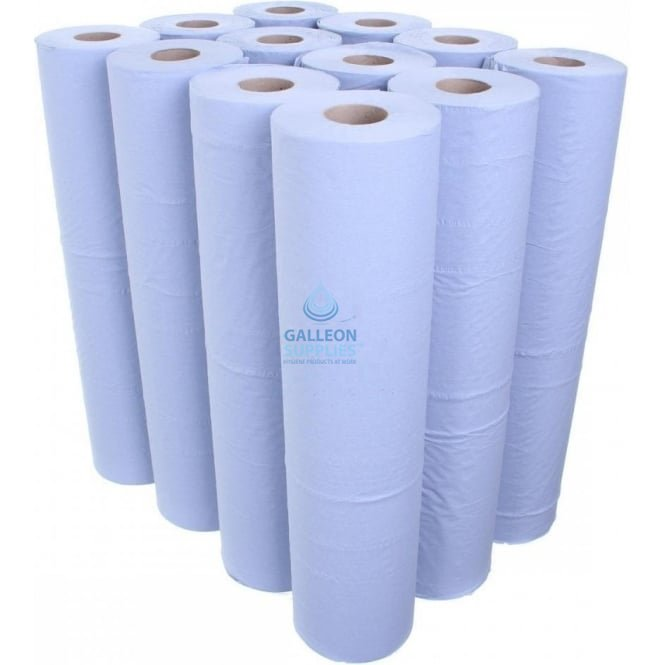 Galleon 3 Ply Luxury Blue Couch Rolls