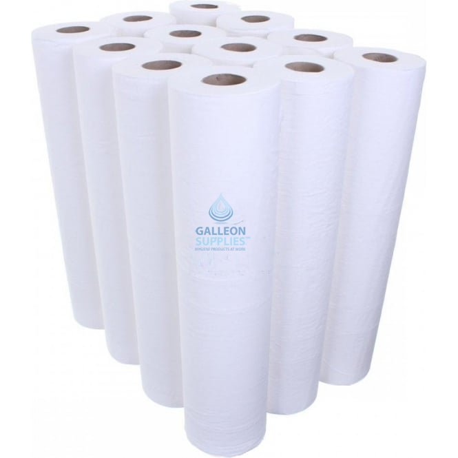 Galleon 3 Ply Luxury White Couch Rolls - Pallet