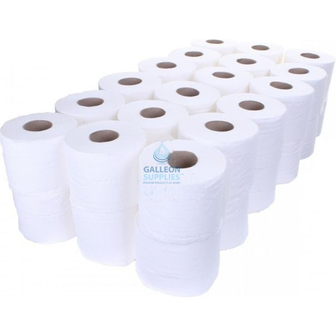 Galleon 320 Sheet Toilet Rolls - 2 Ply - Embossed