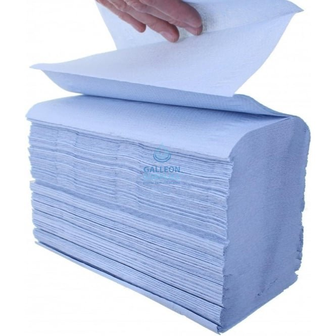 Kimberly Clark Airflex - Blue - Interleaved - Paper Hand Towels