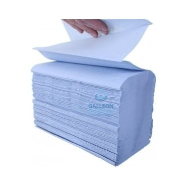 Airflex - Blue - Interleaved - Paper Hand Towels