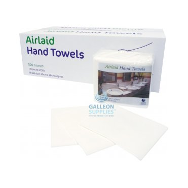Airlaid - White - Executive Hand Towels