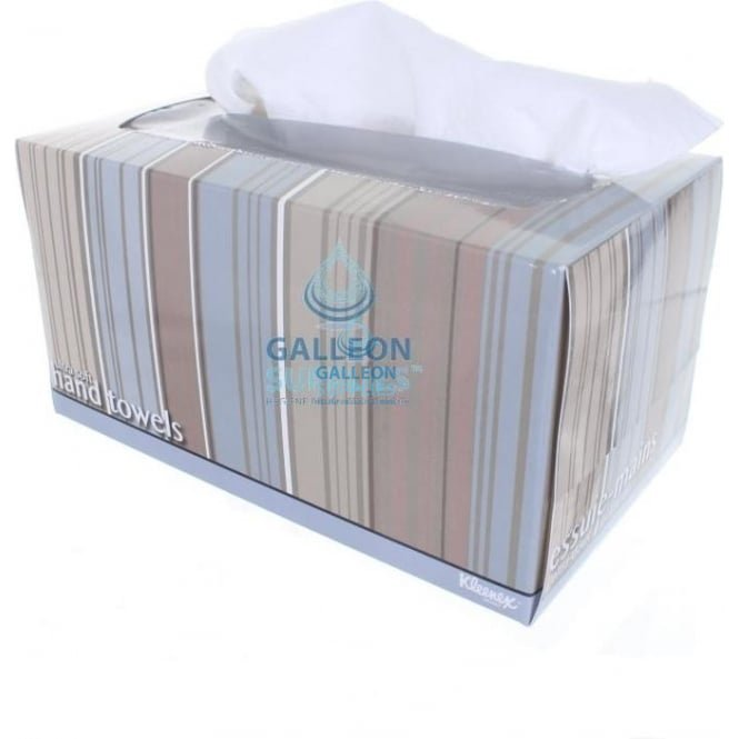 Kimberly Clark Airlaid - White - Executive Soft White Boxed Hand Towels
