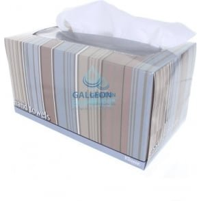 Airlaid - White - Executive Soft White Boxed Hand Towels