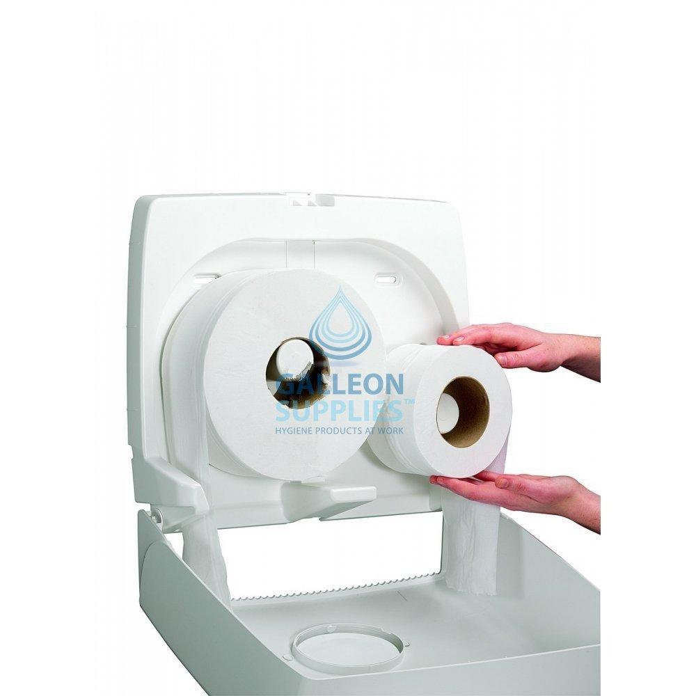 kimberly clark aquarius midi mini jumbo toilet rolls dispenser galleon supplies. Black Bedroom Furniture Sets. Home Design Ideas