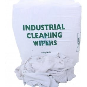 Cleaning Rags - T Shirt - White