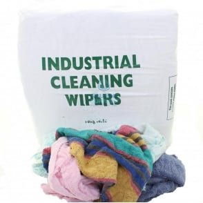 Cleaning Rags - Terry Towelling - Coloured