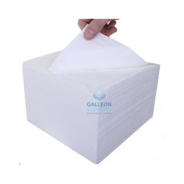 Dinner Napkins - 3 Ply - White - 40cm x 40cm