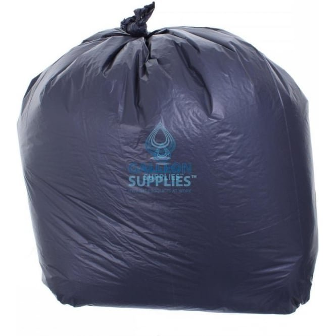 Galleon Economy - Black Bin Bags