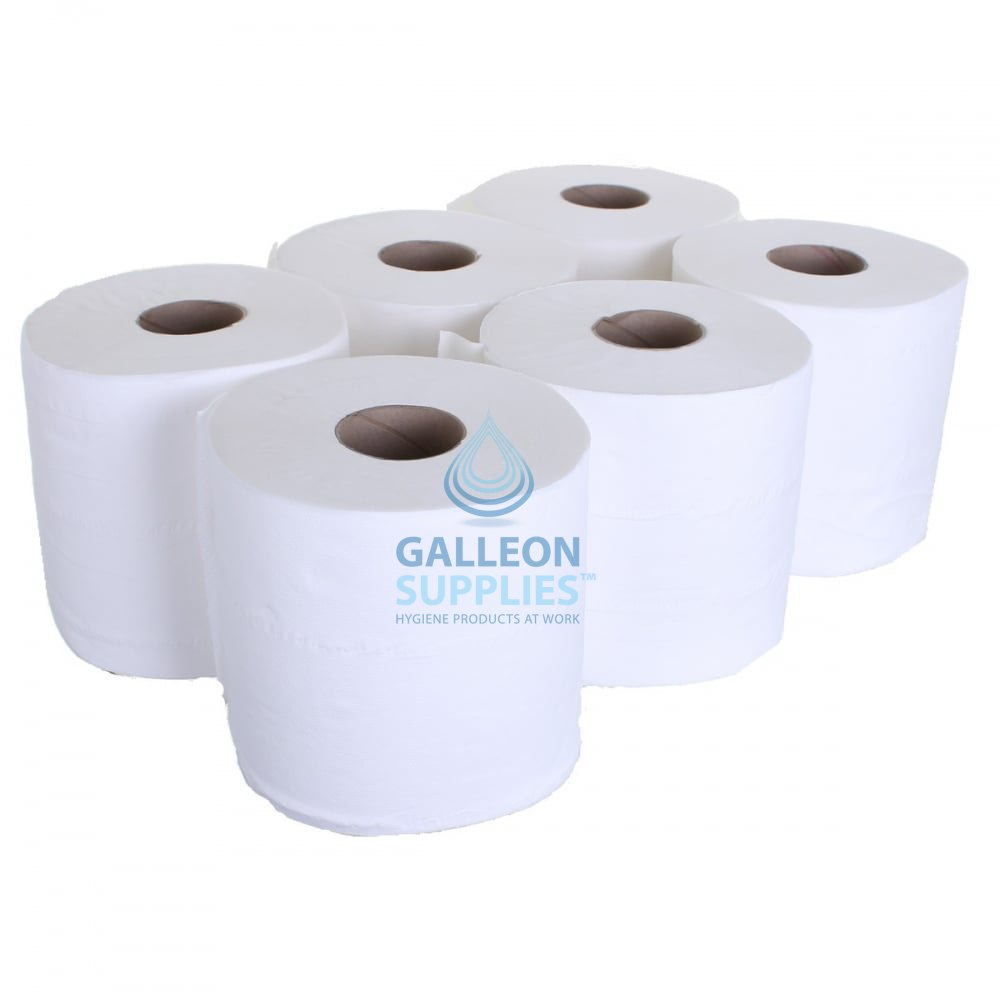 6 x Blue Centre feed 2 ply Paper Towel /& Wall dispenser FREE NEXT DAY DELIVERY