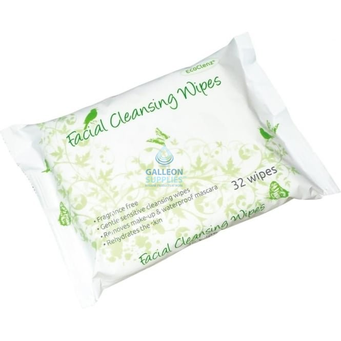 Galleon Facial Cleansing Wipes - Fragrance Free