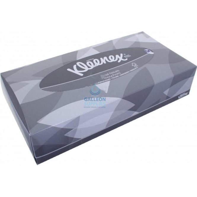 Kleenex Facial Tissues - 2 Ply White