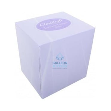 Facial Tissues - 2 Ply White