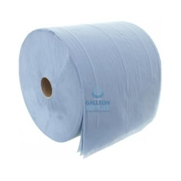 Forecourt Roll - 3 Ply - Blue