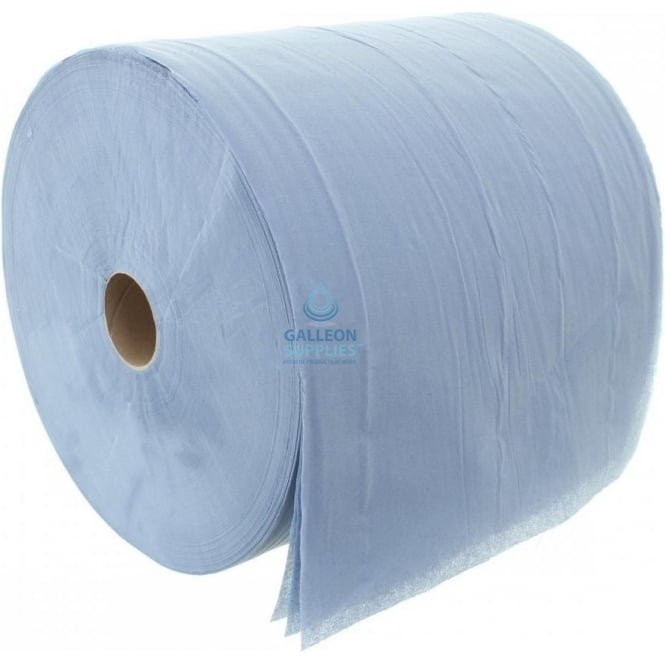 Galleon Forecourt Roll - 3 Ply - Blue - Pallet