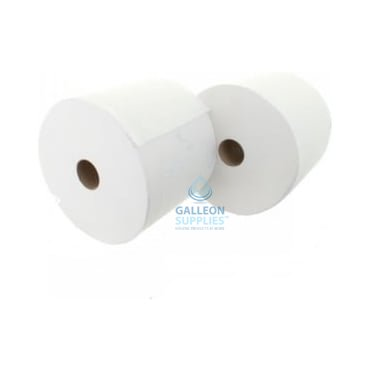 Forecourt Rolls - 2 Ply - White - Twin Pack