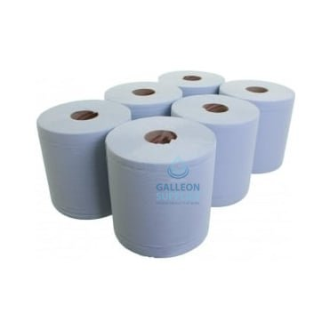 L20 Extra - 2 Ply Blue Airflex Centrefeed Rolls
