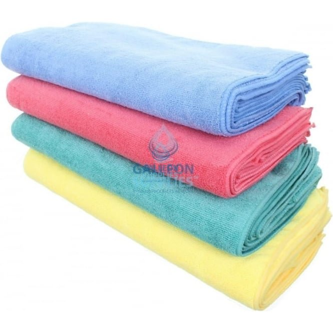 Galleon Mixed Colour Microfibre Cloths