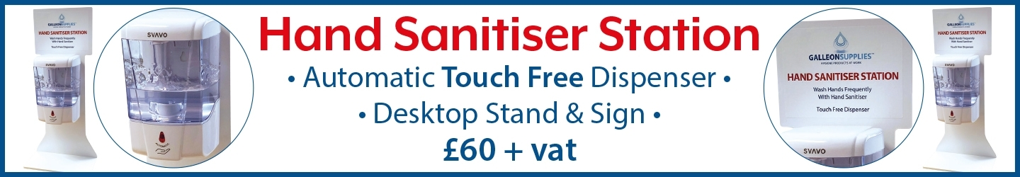 HAND SANITISER STATION
