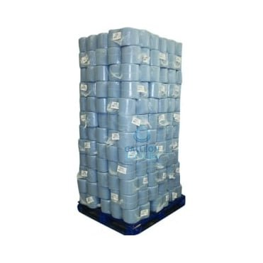 PALLET OFFER : £5.19 PER CASE - FREE DELIVERY - Value 2 Ply Blue Centrefeed Rolls