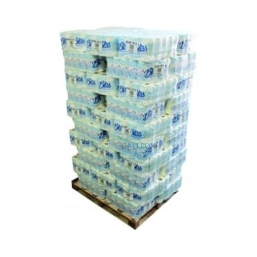 PALLET OFFER : £6.67 PER CASE - FREE DELIVERY - Toilet Rolls - 2 Ply - Quilted Pallet