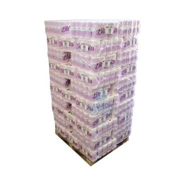 PALLET OFFER : £ 7.80 PER CASE - FREE DELIVERY - Toilet Rolls - 3ply - Quilted Pallet