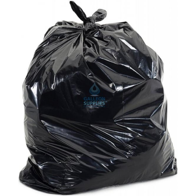 Galleon Premium - Black Bin Bags