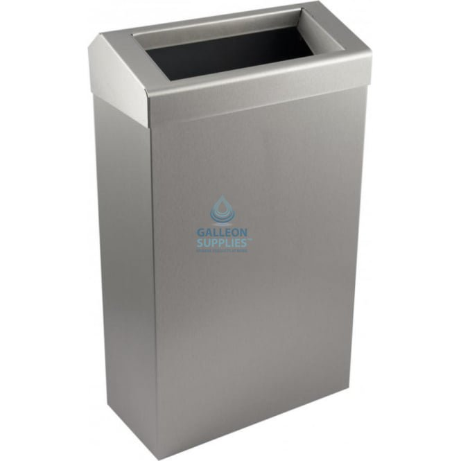 Galleon Stainless Steel 30 Litre Wastebin