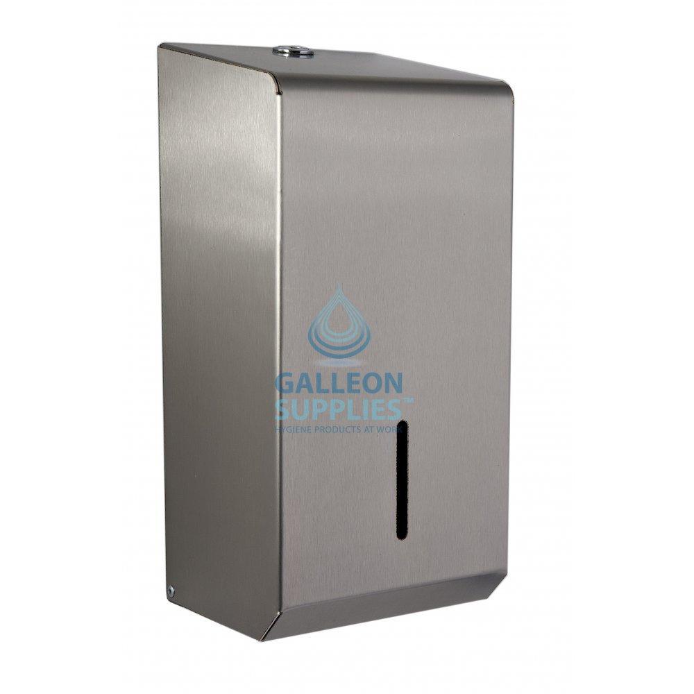 Galleon Stainless Steel Bulk Pack Toilet Tissue Dispenser