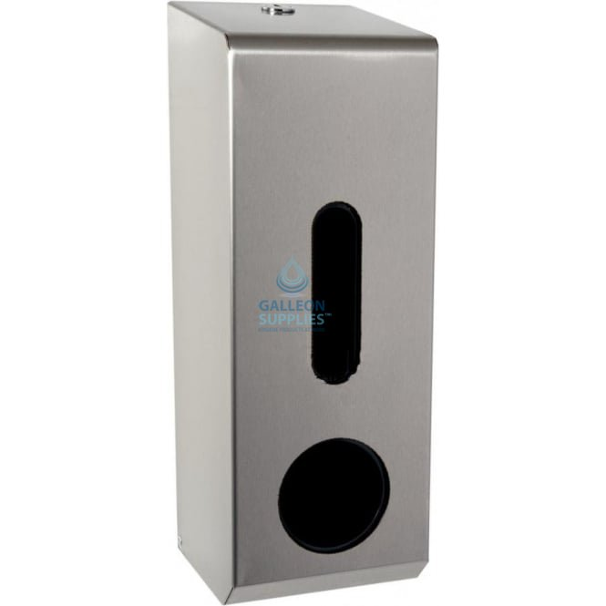 Galleon Stainless Steel Domestic Toilet Roll Dispenser