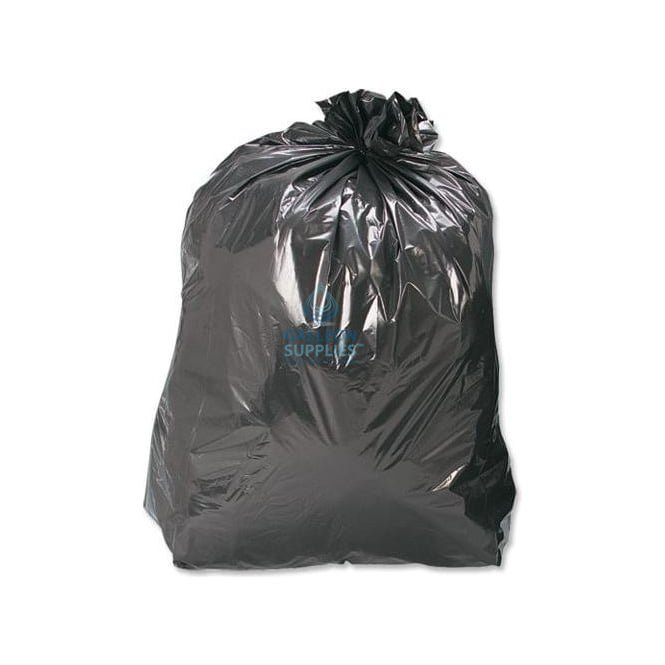 Galleon Standard - Black Bin Bags