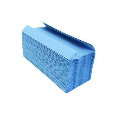 Value 1 Ply - Blue - C-Fold - Paper Hand Towels Pallet