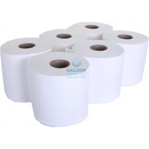 Value 2 Ply White Centrefeed Rolls Pallet