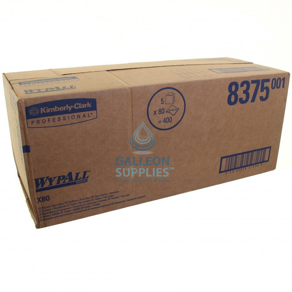 Kimberly Clark Wypall X 80 Pop Up Boxes | Galleon Supplies