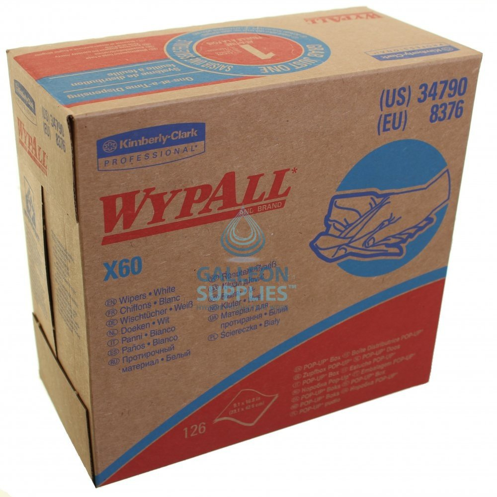 Kimberly Clark Wypall X 60 Pop Up Boxes | Galleon Supplies